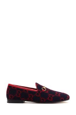 Шерстяные лоферы Jordaan Gucci 470184954