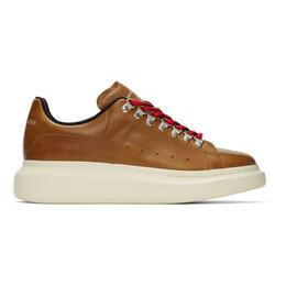 Alexander McQueen Brown Hybrid Hiking Sneakers 604248WHRWD