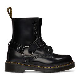 Dr. Martens Black 1460 Harness Boots R25163001