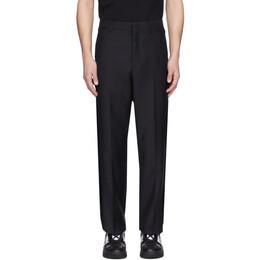 Valentino Navy Wool Formal Pants TV3RBD255U0