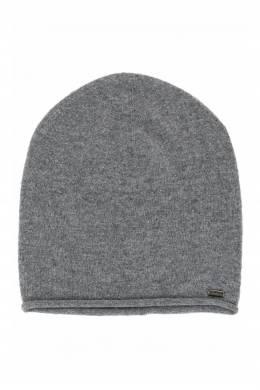 Серая шапка бини с кашемиром Strellson 585184931