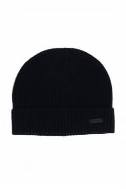Комплект из шапки и шарфа черного цвета Strellson 585184930