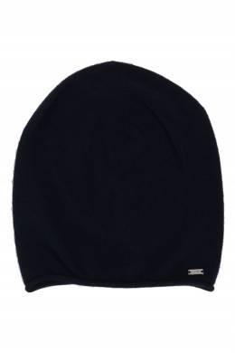 Темно-синяя шапка бини с кашемиром Strellson 585184932