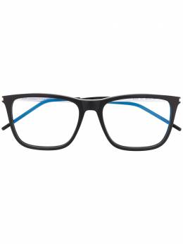 Saint Laurent Eyewear square frame glasses SL345