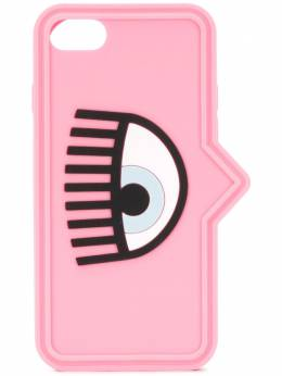 Chiara Ferragni logo eye-print iPhone 7/8 case 20PECFCIP78043