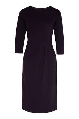 Фиолетовое платье из джерси Emporio Armani 2706185041