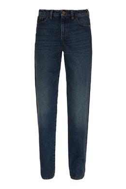 Синие джинсы с контрастной строчкой Emporio Armani 2706185035