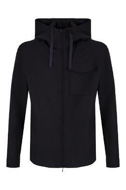 Шерстяная рубашка с карманом Emporio Armani 2706184099