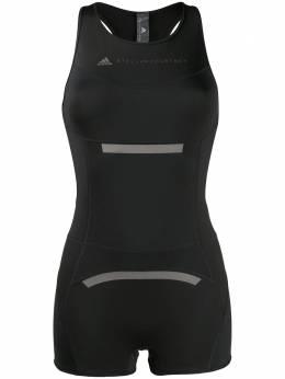 Adidas by Stella McCartney logo printed onesie shorts FS8344